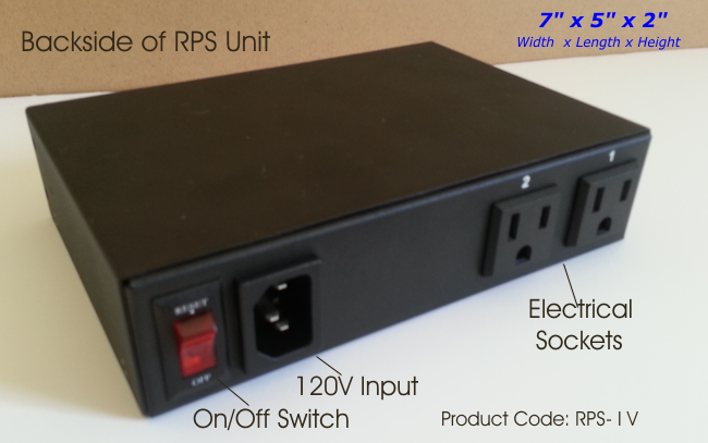 Telephone Controlled Power Switch - 2 Ports