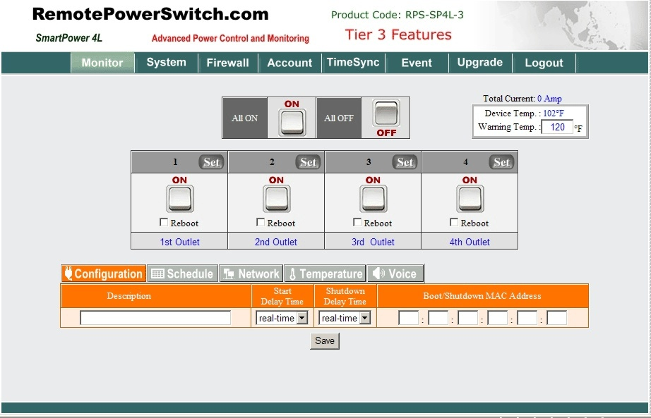 Rps Sp4l Remote Power Control Instructions Remotepowerswitch
