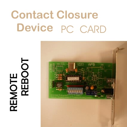 RPS-ATX Computer System Reboot Device. – Contact Closure Unit